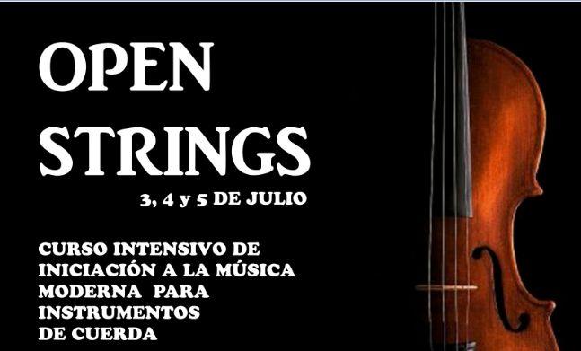 Curso Open Strings para instrumentos de cuerda en Barcelona