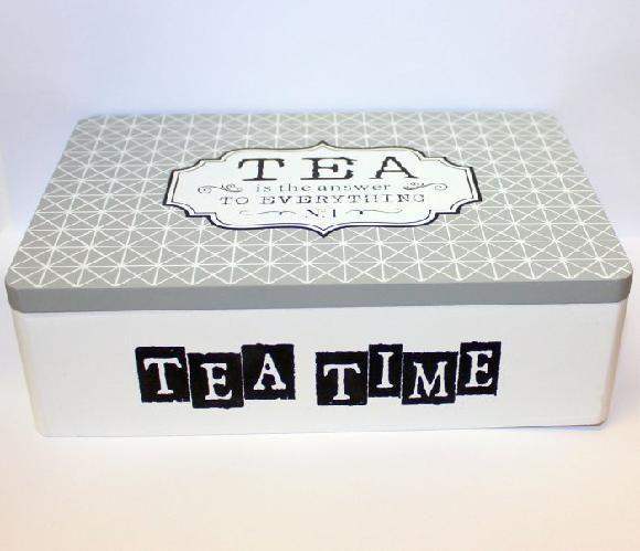 Krabička tea time