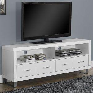 Meja Buffet Tv Minimalis - Segera Lengkapi dekorasi rumah Anda Yang memiliki keanggunan meja kontemporer sederhana Dengan Memakai warnaPutih