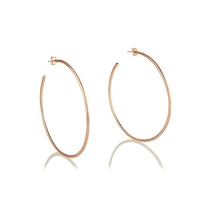 Seychelles Hoop Earrings - Rose Gold