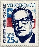 """Salvador Allende Asesinado por la junta militar el 11 de septiembre de 1973"""""""