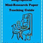 This file includes a fully editable Word document featuring a complete Mini-Research Teaching Unit with lesson plans, activity templates, student handouts, accountability forms, and rubrics for grading.  Includes plans and sources for modeling the research paper process.  Find it at www.teacherspayte...