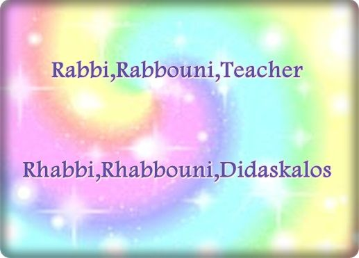 In Jesus' day the name rabbi or teacher was normally reserved for someone who had studied under another rabbi for many years.Jesus offended the religious leaders of his day by ignoring this system.He spoke with an authority that shocked many of his listeners.He is the only teacher who is able to trasform not only your mind but also your heart.