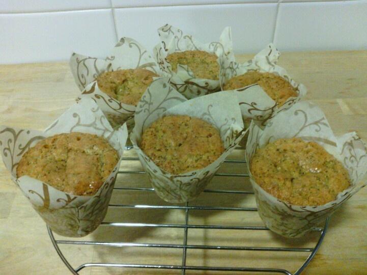 Muffins de limón y sirope