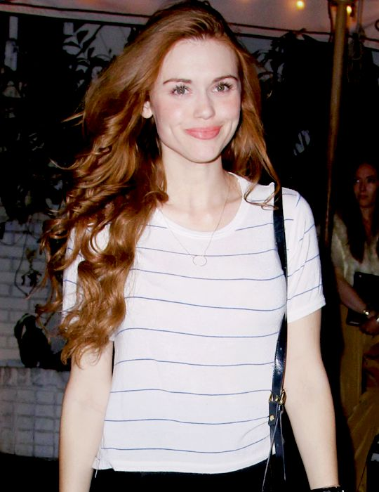 Holland Roden leaving the Chateau Marmont (13.02)