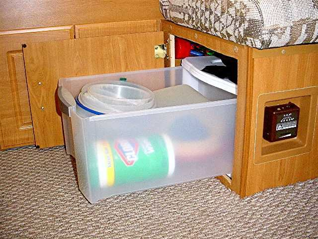 inexpensive interior RV modifications at this site