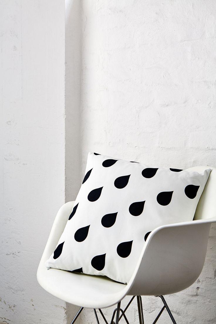 ARTEFLY Ikea Klippan WATER DROP cover and matching cushion