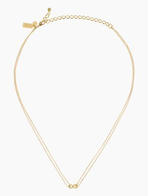 kiss a prince infinity pendant - kate spade new york
