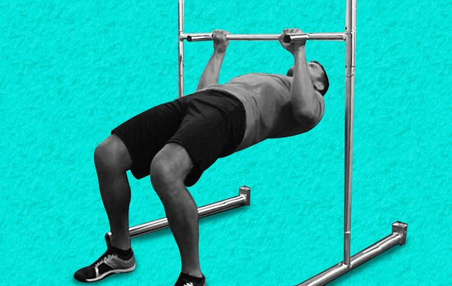 The move that makes your belly disappear | Carve a V-shaped torso with this two-in-one, back-blasting exercise | Learn how to do it here: http://www.menshealth.com/fitness/eow-row-pullup