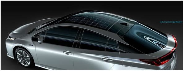 Officially...Archangel641's Blog: Panasonic develops solar car roof for Prius