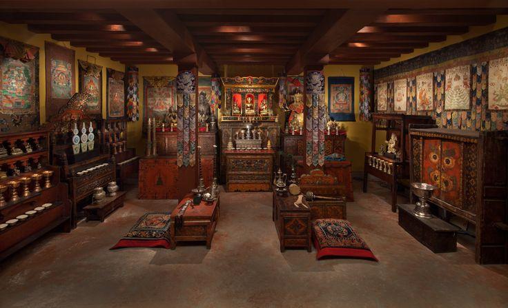 Art in Context: A Tibetan Shrine Room at the Rubin Museum of Art, NYC | Buddhistdoor