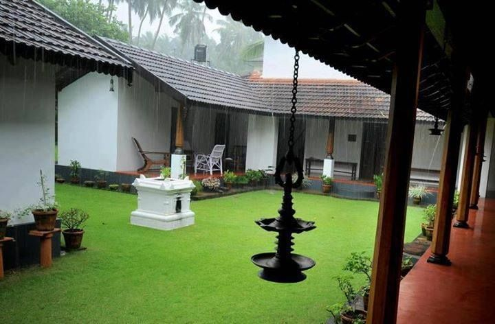 contemporary kerala architecture  Must remember that patients will be waiting in the rain too. How will we accommodate for them