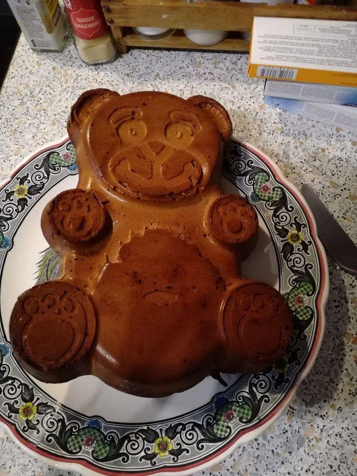 Moule à gâteau nounours
