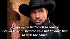 Garth Brooks - The Dance (With Lyrics) - YouTube