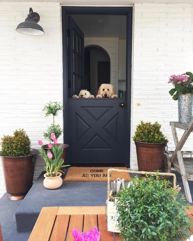 Looking for a Dutch door? This post answers my most FAQ about my Dutch doors, the source, paint colors and other helpful tips.