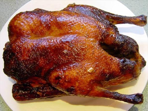 Balsamic, Orange, Honey, Maple Syrup Glazed Duck. Will be doing this for Christmas Dinner for sure!!
