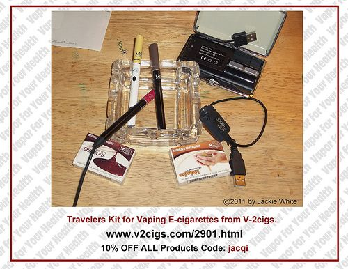 If you are considering vaping and/or are using e-cigarettes products; V-2 e-cigs is having a 20% OFF sale on Halloween. For an additional 10% discount at checkout and ongoing 10% discount, please use my code at checkout; whenever you make purchases:  Do you want to die? I don't. That's why I turned to www.e-cigarilicious.com and spared my health. You should do it as well