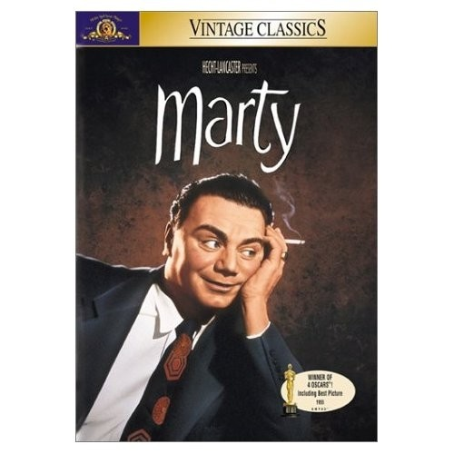 Marty with Ernest Borgnine and Betsy Blair