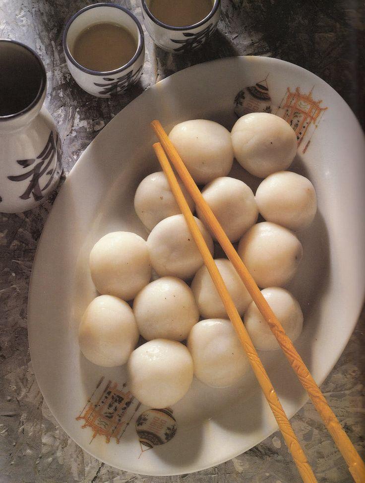 La Cucina Cinese: Polpettine dolci di riso