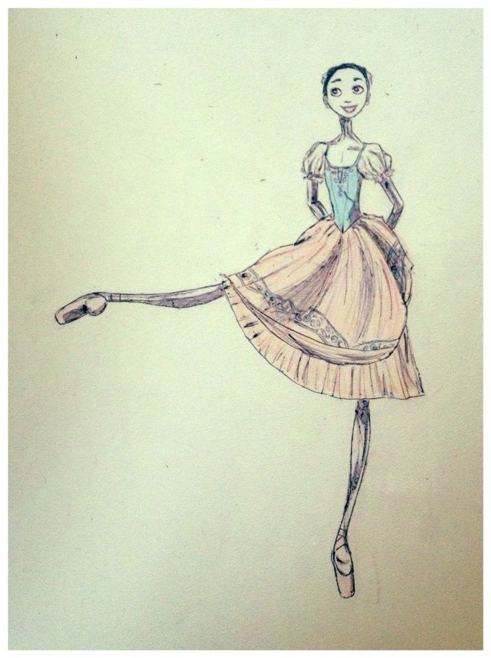 Barbara Zorzato's interpretation of my absolute dream idol: Hannah Bettes in her Prix de Laussanne piece Copellia act 1