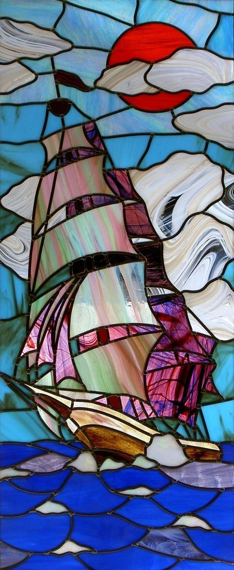 Could be enchanted like the mermaid in the bathroom in the Goblet of Fire #StainedGlassMermaid
