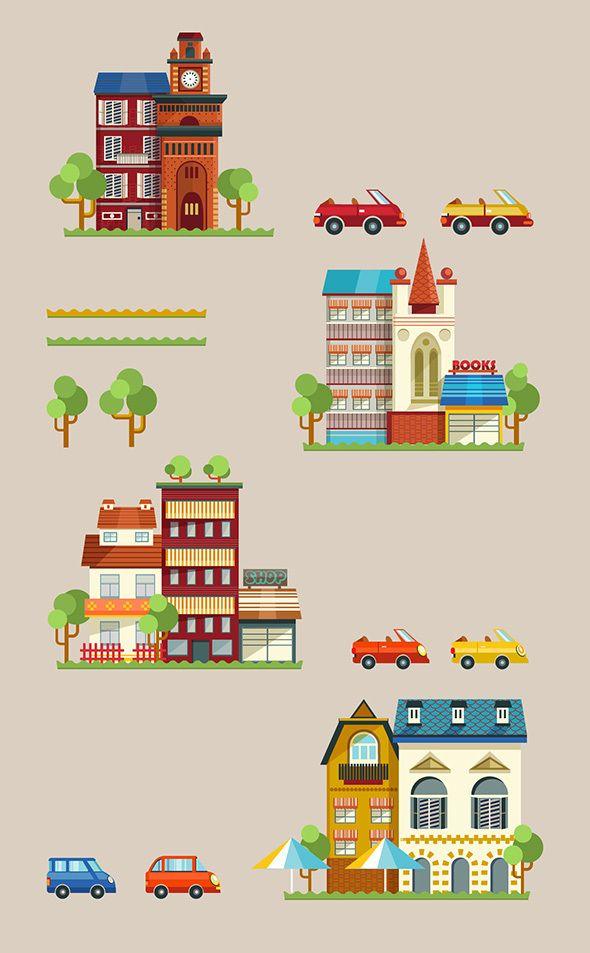 https://www.behance.net/gallery/14583229/City-Infographic