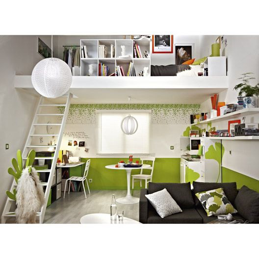17 best images about rangement dressing leroy merlin gu rande on pint - Amenagement chambre 20m2 ...