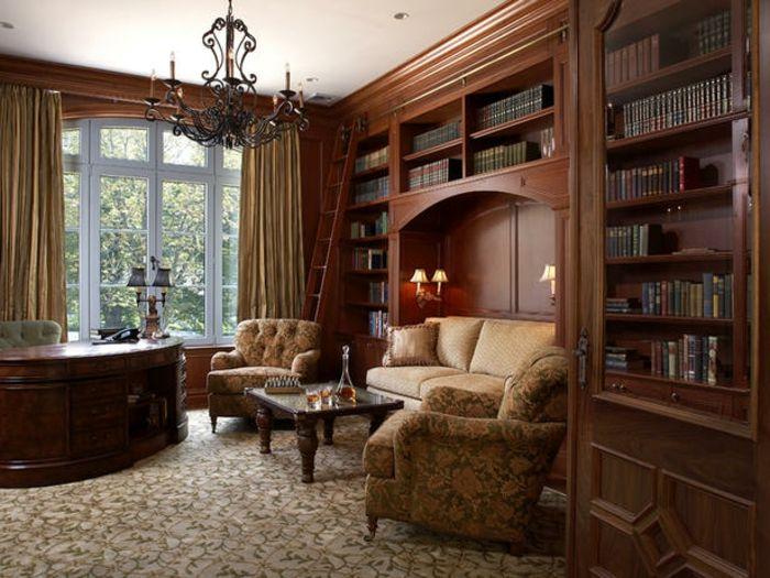 Les 25 meilleures id es de la cat gorie bureau traditionnel sur pinterest tapis de bureau - Bureau classique ...