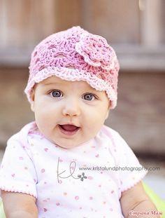 Ажурная шапочка для малышки. Комментарии : LiveInternet - Российский Сервис Онлайн-Дневников