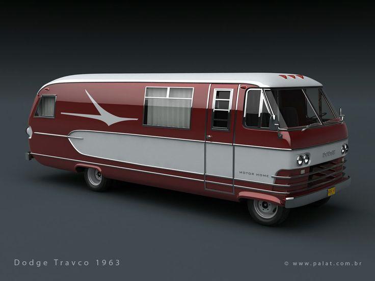 Vintage Motorhomes | Dodge Travco 1963 Motorhome-dodge-travco-1963-b.jpg
