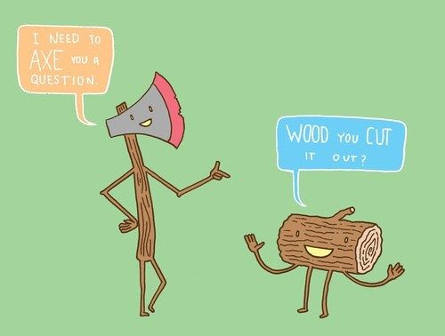 wood jokes dirty