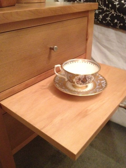 """Eden Bedside with a """"Morning cup of tea"""" slide by Rose and Heather NZ"""