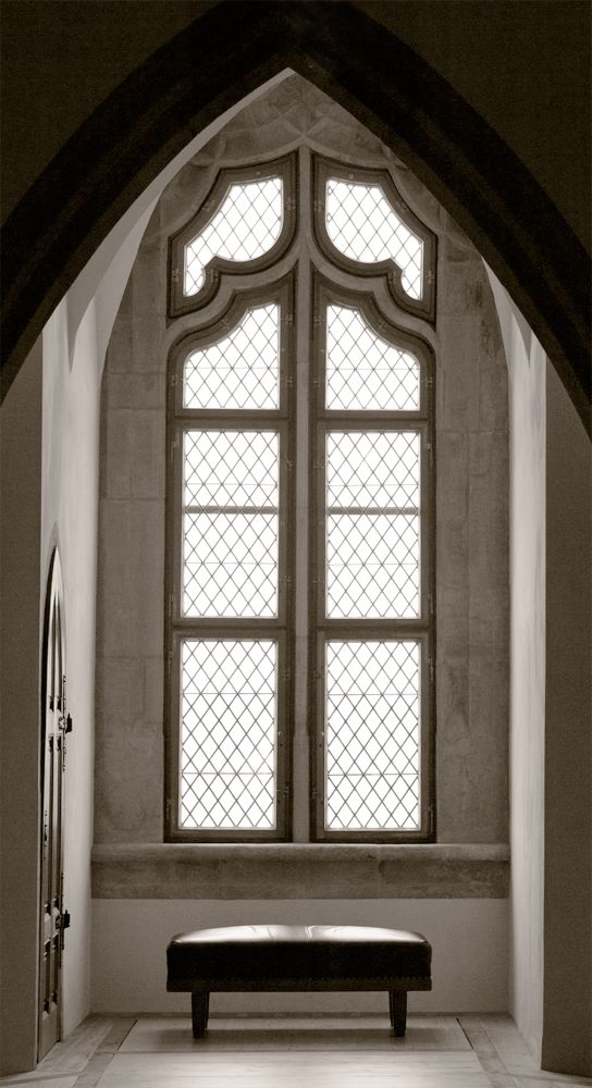 Window of Albrechtsburg Castle by Nico Richter  Built in the 15th century, the Meissen Albrechtsburg is regarded to be Germany's oldest castle.
