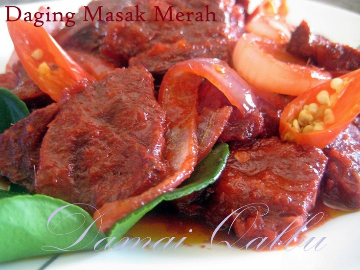 Daging Masak Merah Ala Thai Yang Sedap - Azie Kitchen