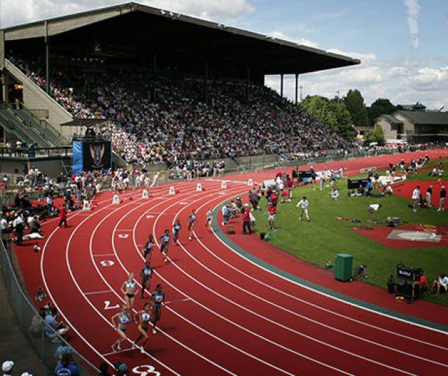 Oregon Ducks track and field 2013 - Hayward Field