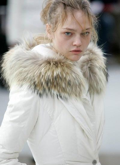 Sasha Pivovarova, Saga Furs 2006