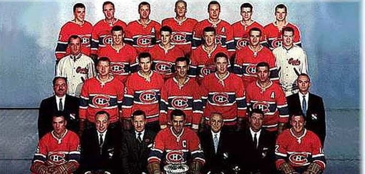 In 1959, Canadiens de Montréal become the first team in history to win Lord Stanley's Cup 4 years in a row. A year later, they won their 5th consecutive Cup.