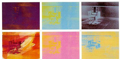 Warhol - 1967 - Serie de la Silla eléctrica