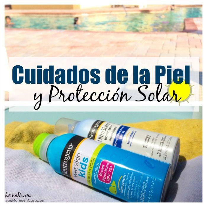 Cuidados de la Piel y Protección Solar