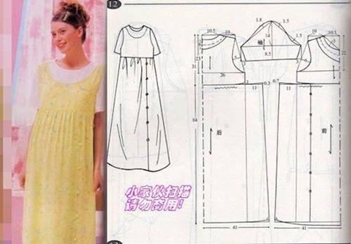 Chart may váy bầu cho chị em với các mẫu cực đẹp và chi tiết5