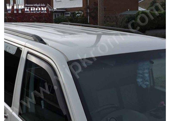 #Volkswagen #Transporter T5 Alüminyum Tavan Çıtası, Siyah, 2003 ve Üzeri  #VipKrom #Otomobil #Aksesuar