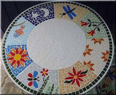 mesa com mosaico - Pesquisa Google