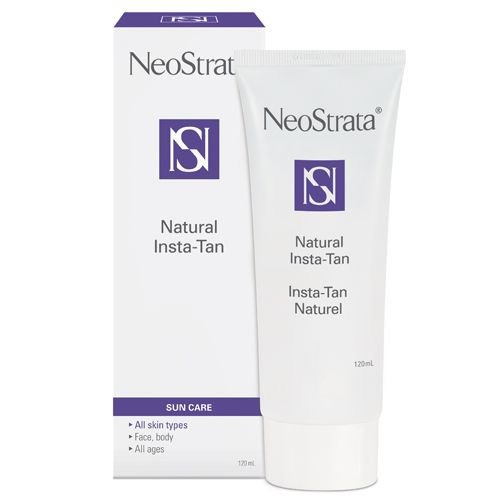 Add some colour this winter with this week's special: Neostrata Natural Insta-Tan. This 2 in 1 product, an instant bronzer and tanner, allows for an even and smooth application. Ideal for all skin types, face, body and all ages.