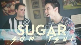 Sugar (Maroon 5) - Sam Tsui & Jason Pitts Acoustic Cover - YouTube