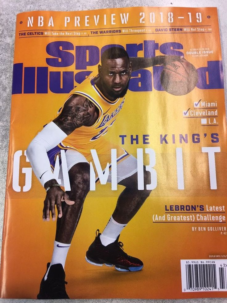 Sports Illustrated NBA Preview 201819 Lebron James