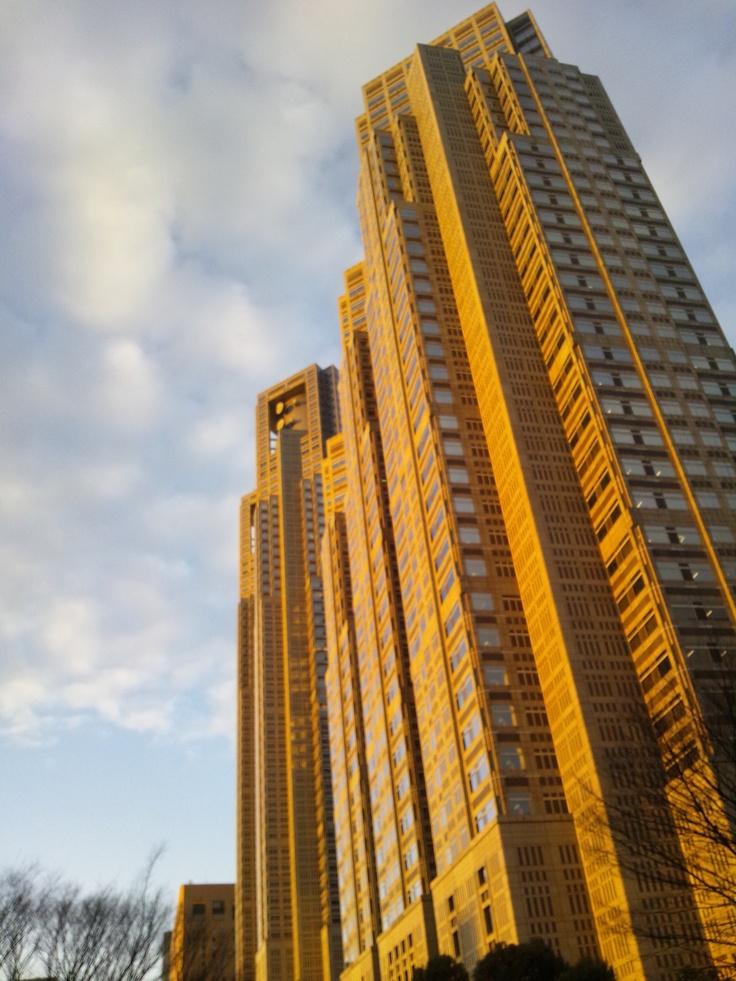 Kenzo tange tokyo city hall architect crushes architektur - Architektur tokyo ...