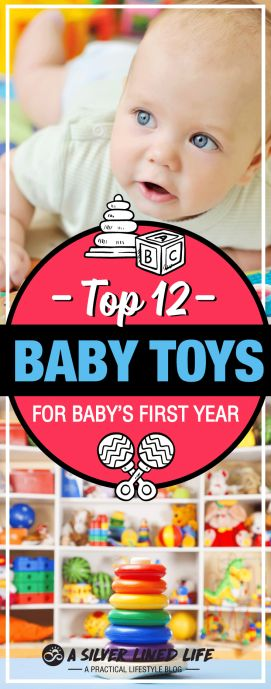 Best baby toys by age: newborn - 1 year. Great gift and registry ideas for education and early development!