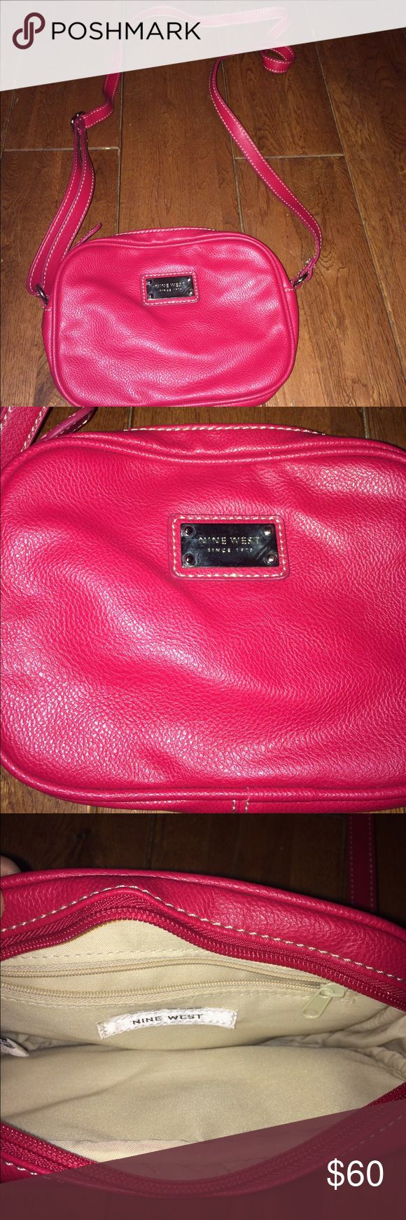 Handbag Red only used a few times Nine West Bags
