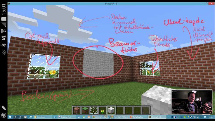 Tapete Backsteinmuster : nicht Minecraft spezifisch sein)  Wand Tapete mit Backsteinmuster