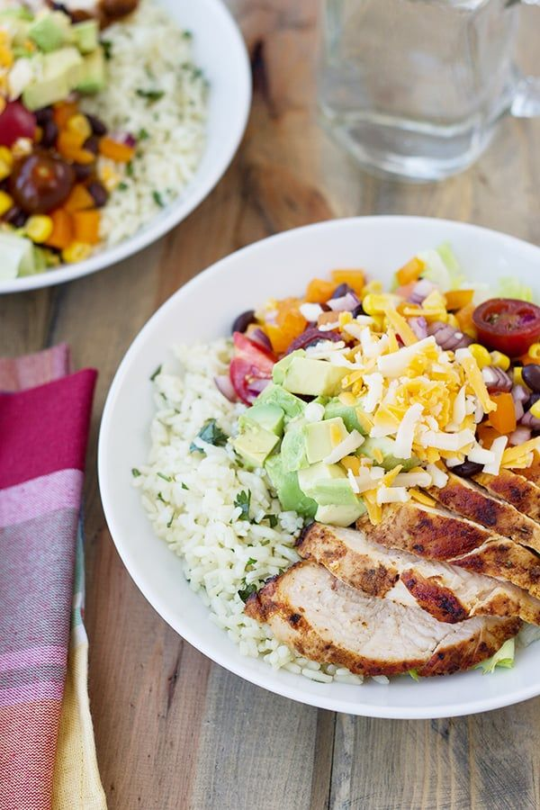 Easy Parmesan Risotto Countryside Cravings Chicken Burrito Bowl Burrito Bowl Dinner Recipes
